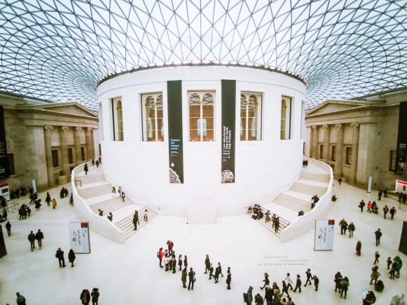 British museum als smartphone fotografie onderwerp