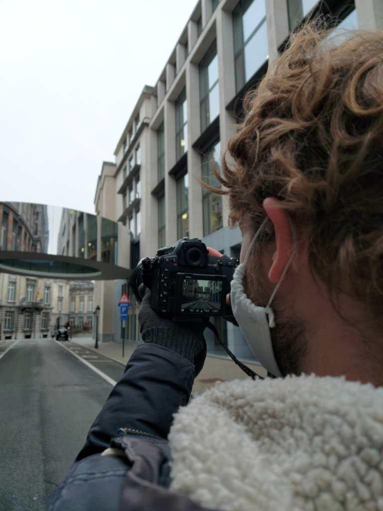 Fotograaf op stap in Brussel