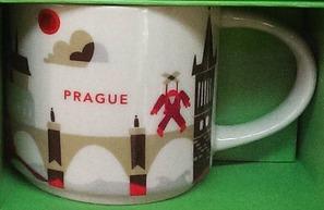 Starbucks City Mug You Are Here in Prague