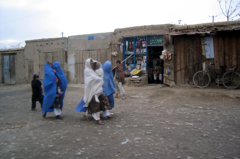 Burka in the street