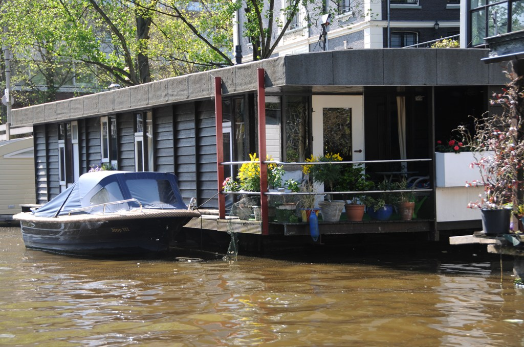 House on the canal