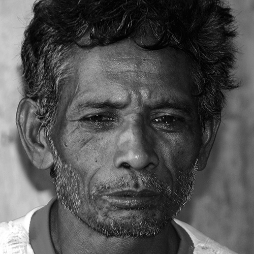 Man in West Timor