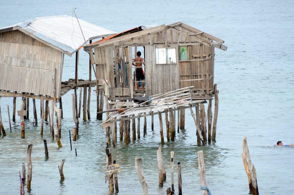 Stilt houses in Zamboanga