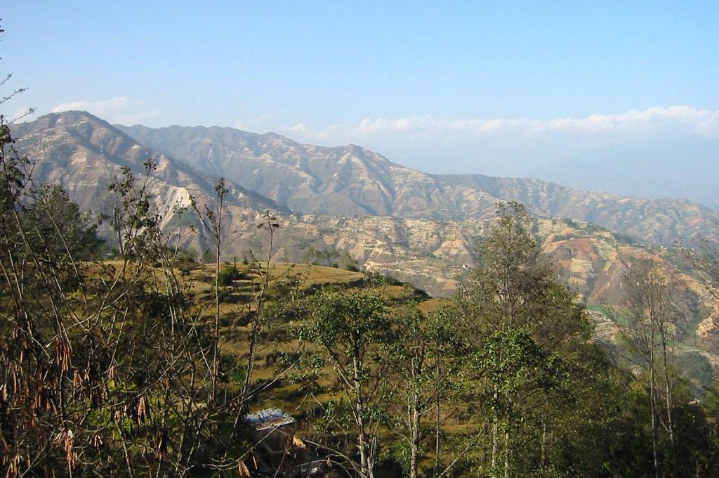 Mountains near Kathmandu
