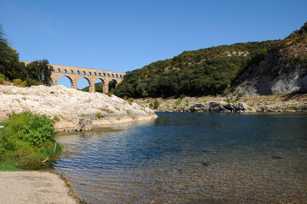 The Gard river
