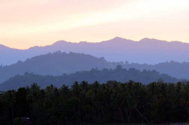 PNG mountains