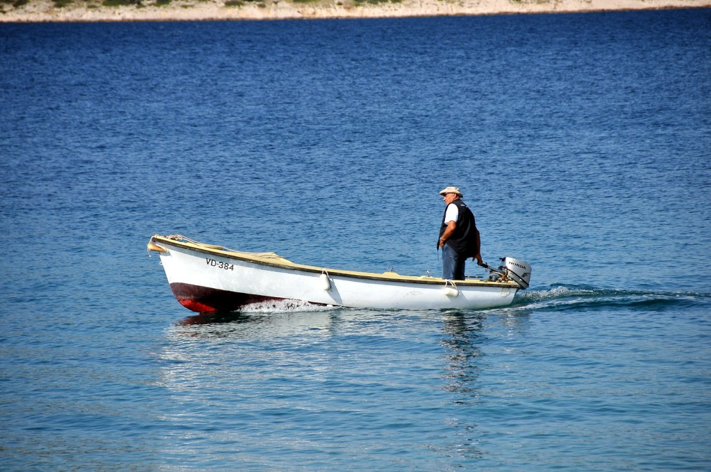 Boatman in Prvic