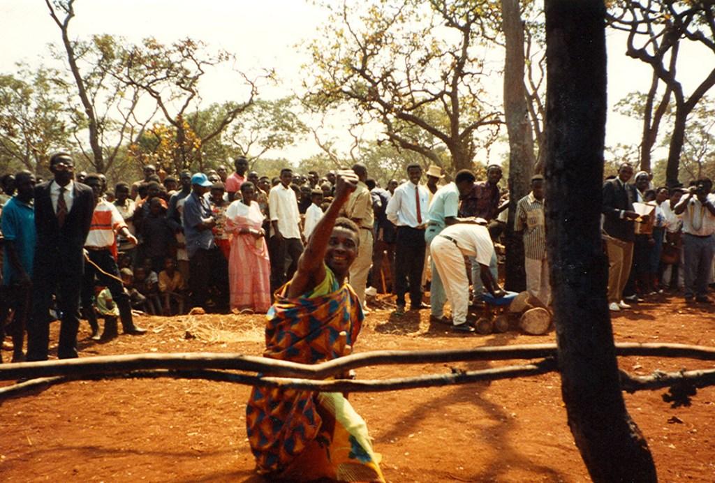 refugee dancing