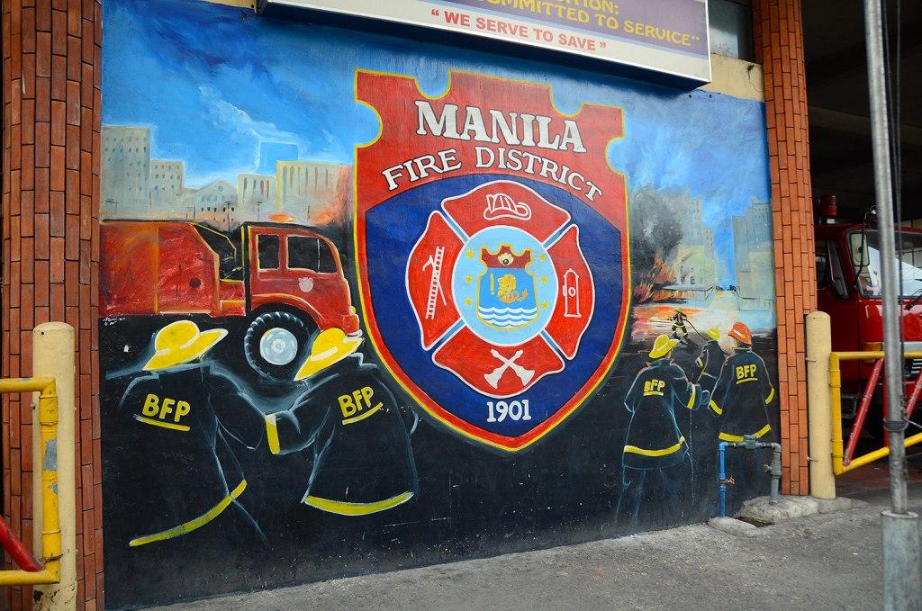 fire brigade in Manilla