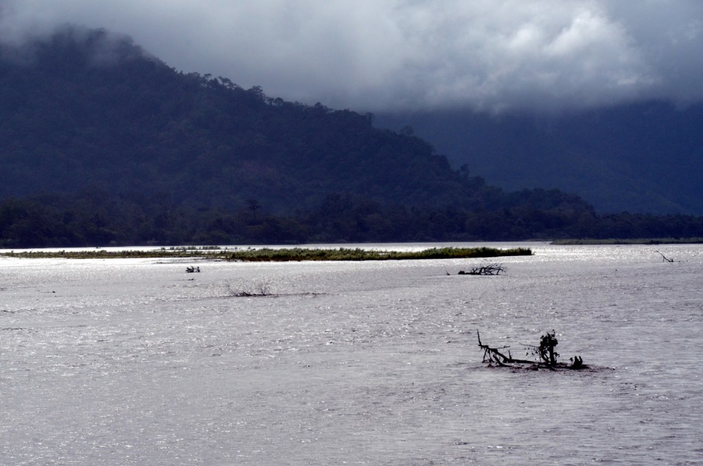Markham river in Papua New Guinea