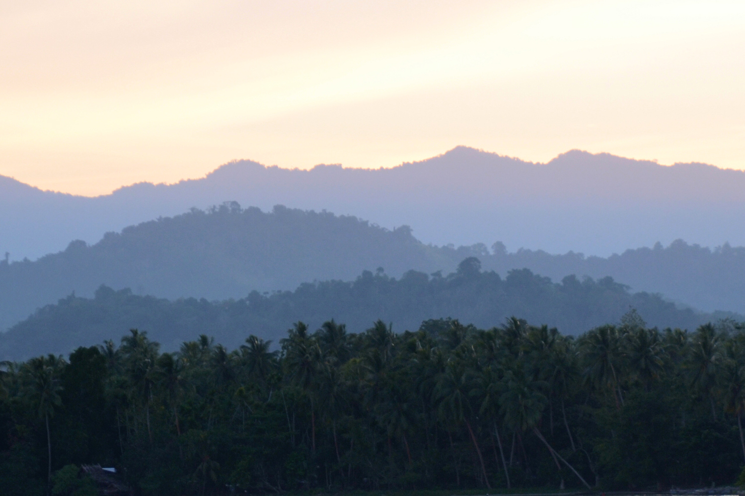 Mountains in Papua New Guinea
