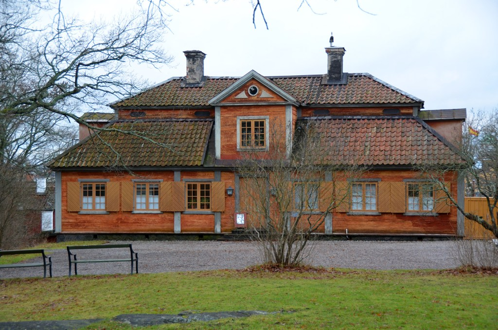 Old house in Skanssen