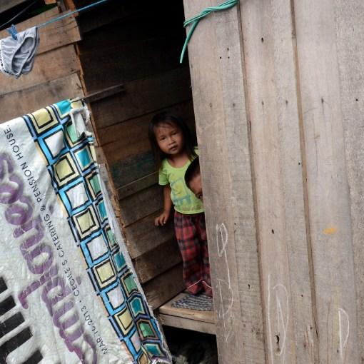 Displaced informal settlers Zamboanga, 2014
