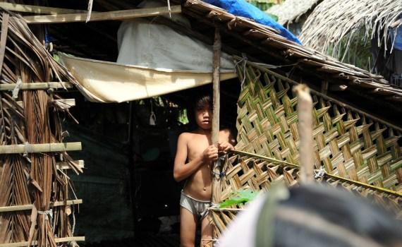 Mindanao girl IDP