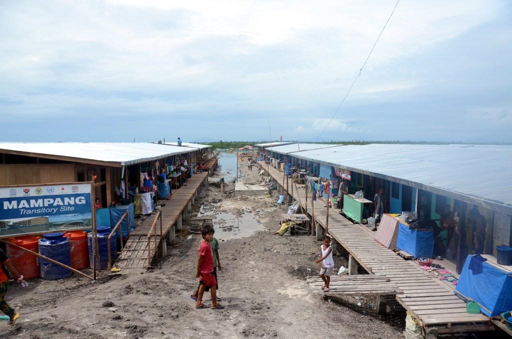 mampang transitory IDP camp zamboanga 2014