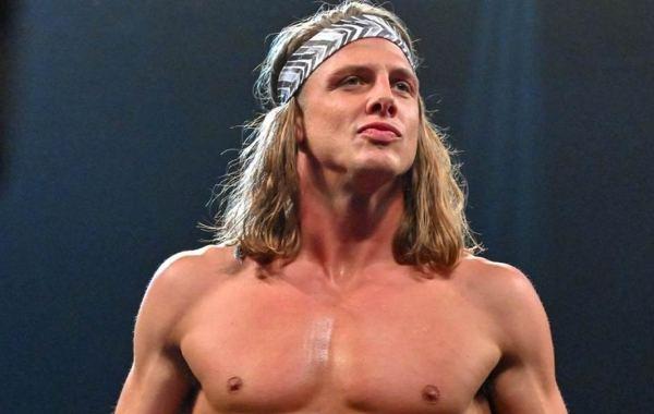 WWE wrestler Matt Riddle