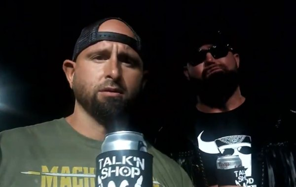 Karl Anderson and Luke Doc Gallows