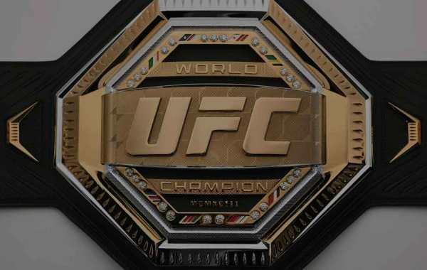 UFC Championship Belt.