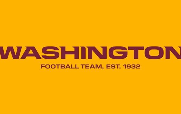 Washington Football Team logo, colors.