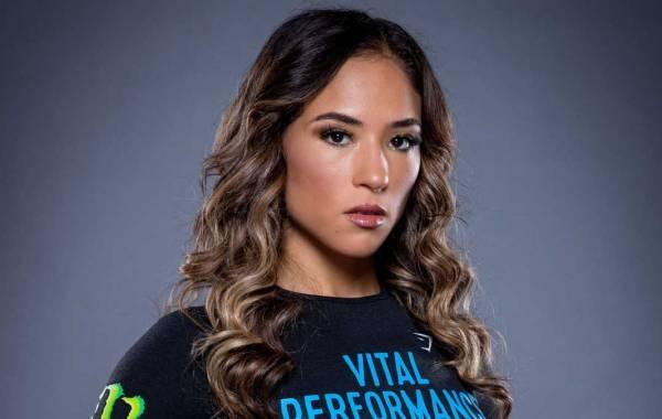 Bellator MMA flyweight fighter Valerie Loureda. Courtesy of Bellator.com.