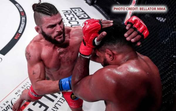 Bellator MMA middleweight Alex Polizzi. Photo Credit: Bellator MMA.
