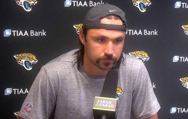 Jacksonville Jaguars quarterback Gardner Minshew. Courtesy of Jaguars.