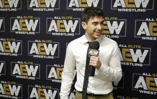 AEW CEO Tony Khan. Courtesy of All Elite Wrestling.