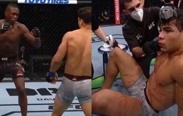 Israel Adesanya dominates Paulo Costa at UFC 253. Courtesy of UFC.