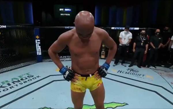 UFC legend Anderson Silva. Courtesy of UFC.