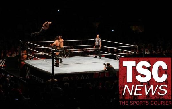 WWE wrestler Seth Rollins. Fred Richani Photo.