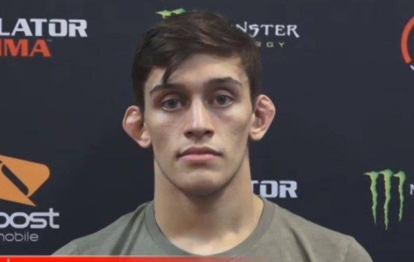 Bellator MMA fighter Lucas Brennan. Courtesy of Bellator.