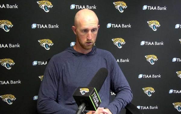 Jacksonville Jaguars quarterback Mike Glennon. Courtesy of Jaguars.