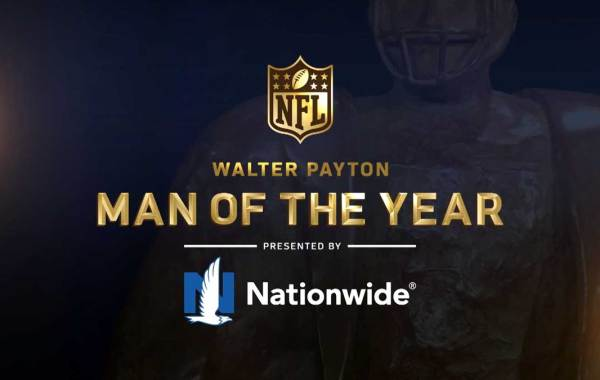 NFL Walter Payton Man of The Year Award presented by Nationwide