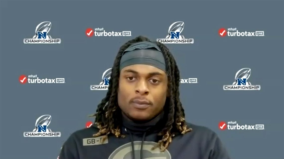Green Bay Packers Pro Bowl wide receiver Davante Adams. Courtesy of Packers.