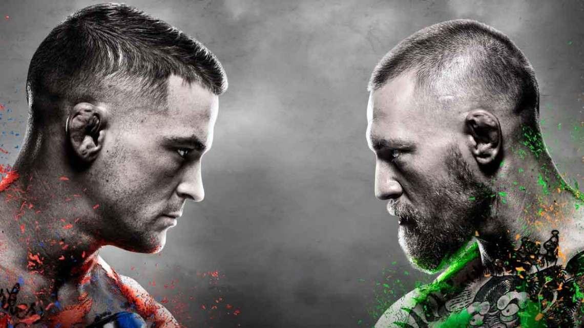 UFC 257: Conor McGregor vs. Dustin Poirier 2 poster. Courtesy of UFC.