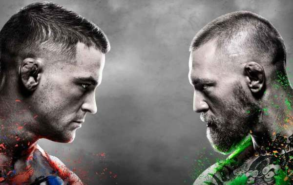 UFC 257: Conor McGregor vs. Dustin Poirier 2 poster. Courtesy of UFC.