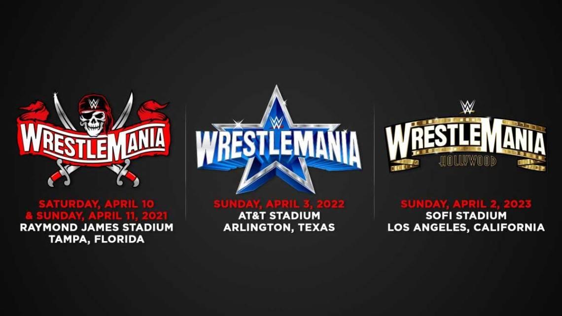 WWE WrestleMania Schedule 37 to 39