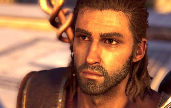 Alexios in Ubisoft's Assassin's Creed Odyssey: The Fate of Atlantis DLC screenshot via TSC Gaming and Apps.