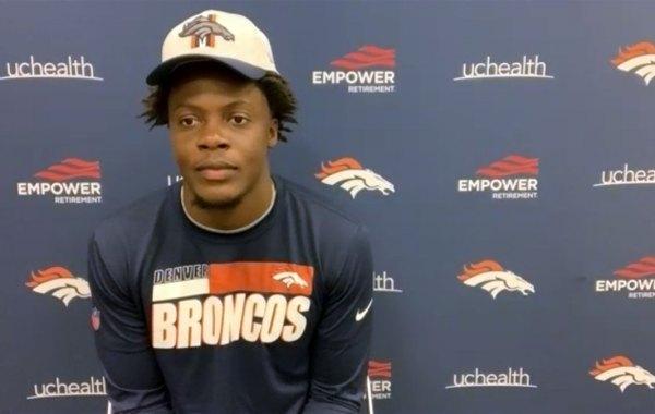 Denver Broncos quarterback Teddy Bridgewater. Courtesy of Broncos.