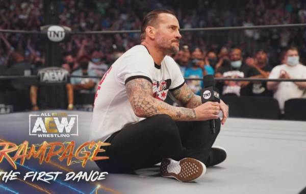 CM Punk. Courtesy of All Elite Wrestling / AEW YouTube channel.