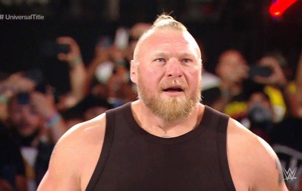 WWE wrestler Brock Lesnar. Courtesy of WWE.com / Peacock.