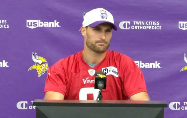 Minnesota Vikings quarterback Kirk Cousins. Courtesy of Vikings.