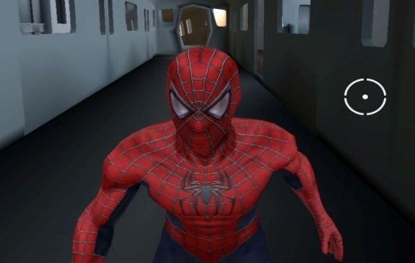 Screenshot of unreleased Spider-Man 4 video game on Xbox 360 and Nintendo Wii.