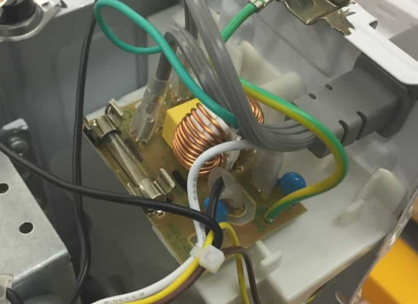 how to check a microwave fuse fred s