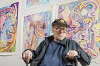 Jim Beoddy at his final exhibition, Vanderelli Room; Columbus, OH 2015