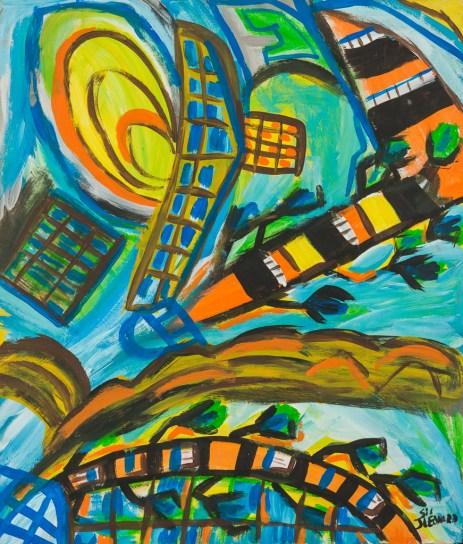 Painting by Juanita Leonard