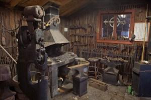 William Brady Sr's blacksmith studio; Centerville, PA 2012
