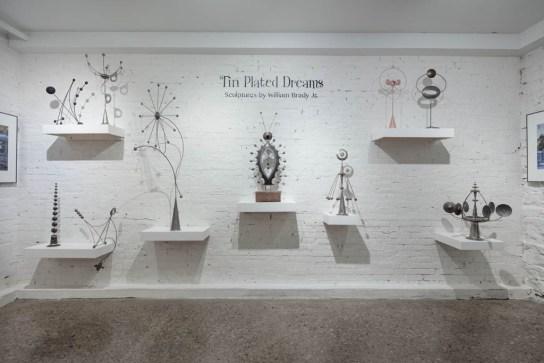 William Brady exhibition, Erie Art Museum; Erie, PA 2017