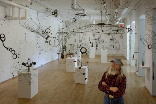 William Brady exhibition, Erie Art Museum; Erie, PA 2018