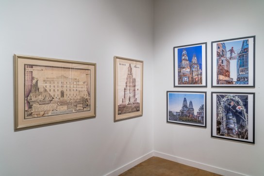 A. G.Rizzoli drawings, and Dominic Espinoza's Castle
